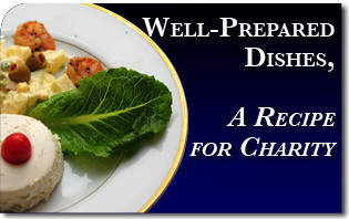 Well-Prepared Dishes, A Recipe for Charity