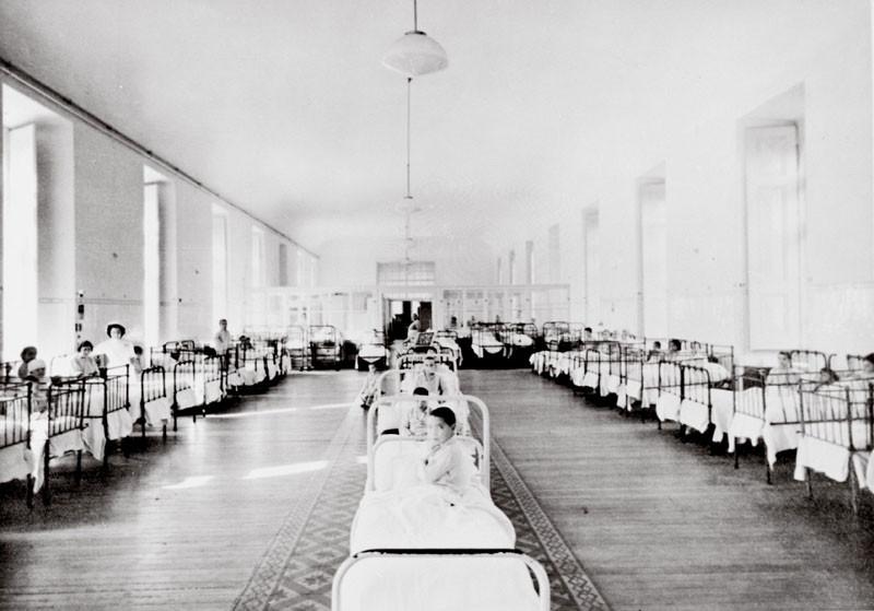Dona Estefania Hospital where Blessed Jacinta died.