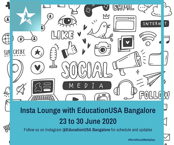Insta Lounge with EducationUSA Bangalore