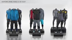 Bodyform Apparel Modeling & Sculptin