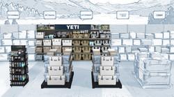 Yeti Bass Pro Shop Environment