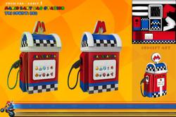Mario Kart Gas Station