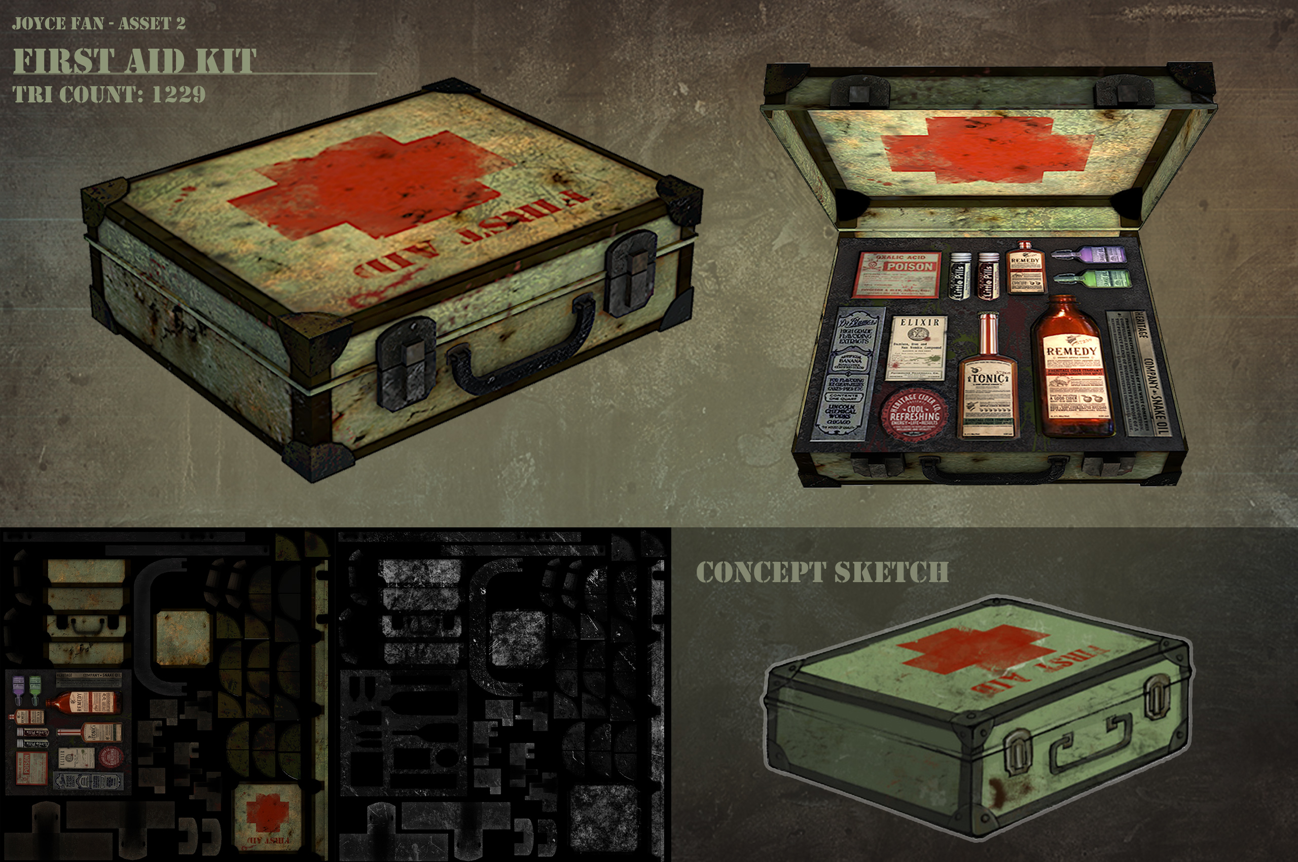 Useless First Aid Kit Asset