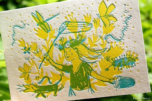 kartka pocztowa LATO