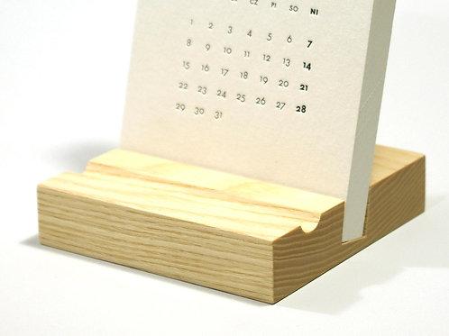 podstawka pod kalendarz biurkowy