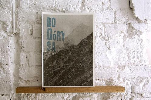plakat - Bo Góry Są