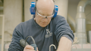 Product promo and launch video for Woodchester cabinet makers