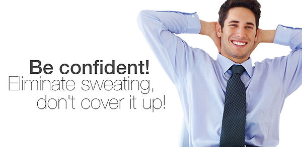 excessive underarm sweating & odour