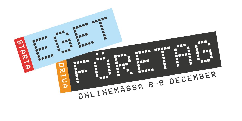 """Nya """"digitala"""" varianten av Eget Företags logo"""