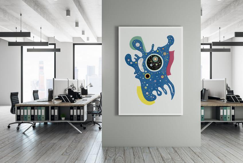 "POSTER – Wassily Kandinsky, ""The Stars"" (Les étoiles), Vintage Art"