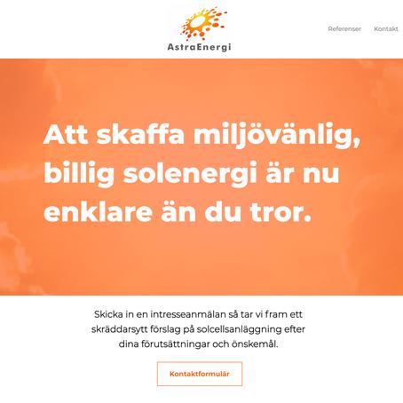 Ytterligare webb lanserad