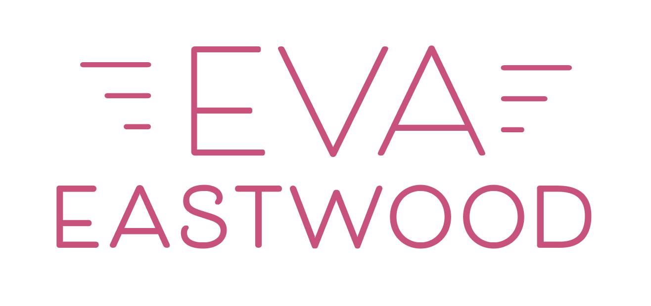 """Logo för artisten Eva Eastwood. Framtagen för CD/LP-omslaget """"Candy"""""""