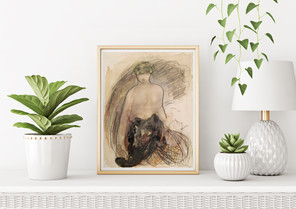 """POSTER – """"Nero"""" by Auguste Rodin"""
