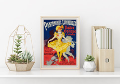 POSTER – Pantomimes Lumineuses