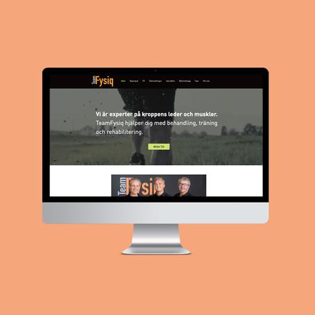 Webb lanserad