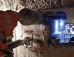 Sömborrning för ventilation