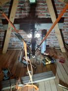 Borrning för FTX på vind