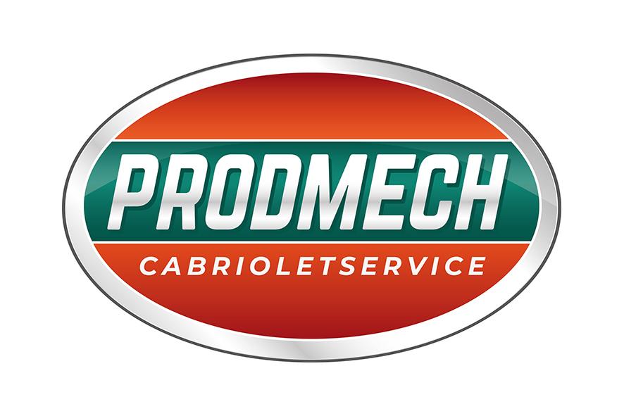 Logotype för ProdMech Cabrioletservice