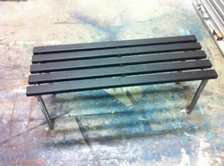 Bench finished