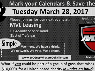 Save the Date for our Q1/17 Event!