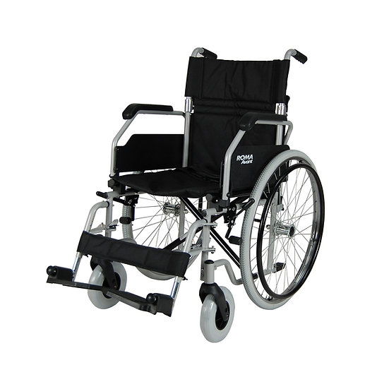 Roma 1610 Steel Self-Propelling Wheelchair