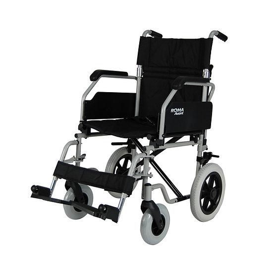 Roma 1630 Steel Transit Wheelchair