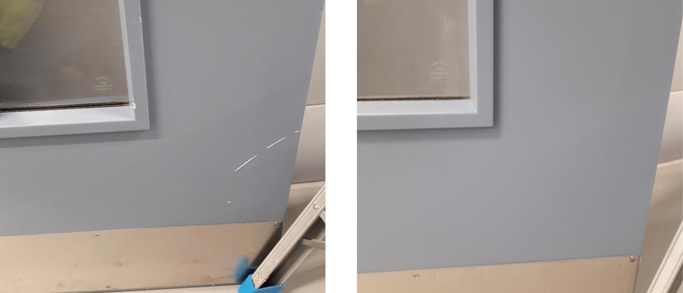 Laminate Door repair