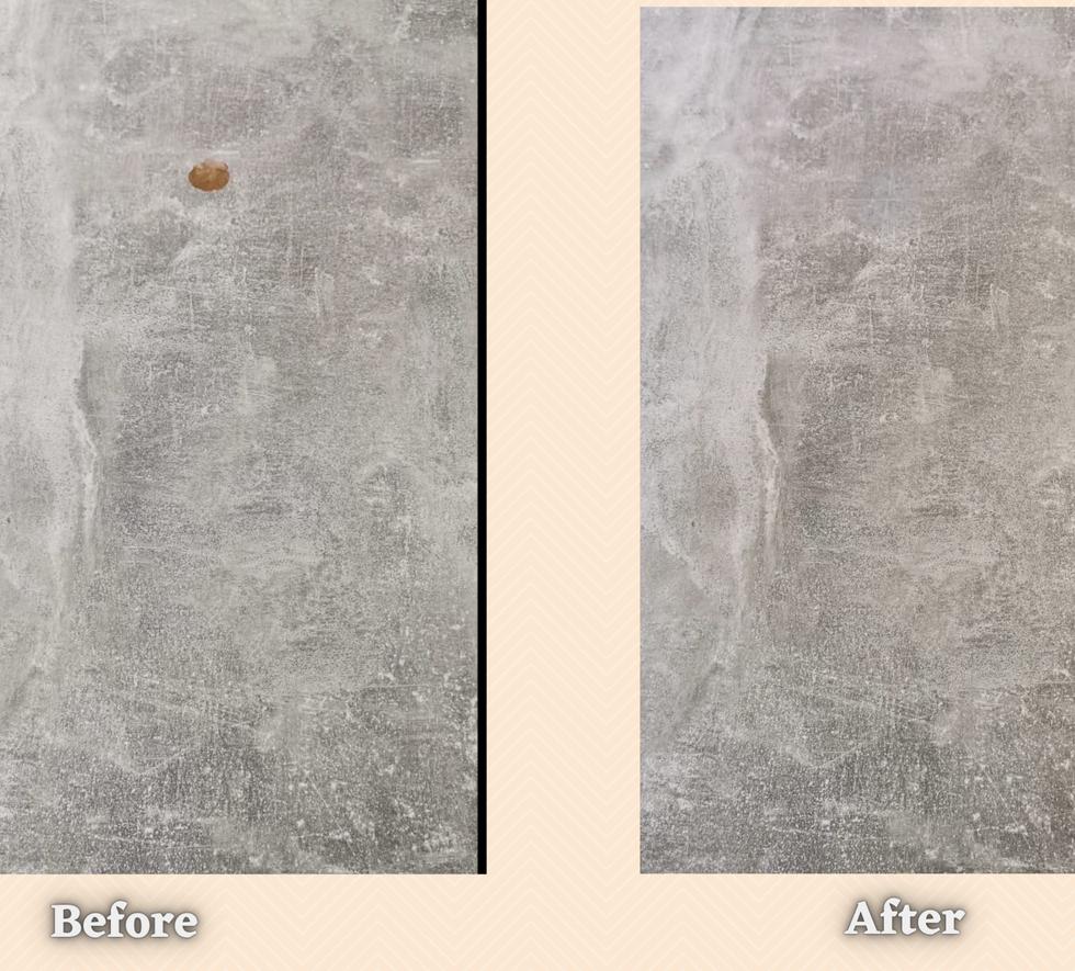 Worktop Repair Befrore And After