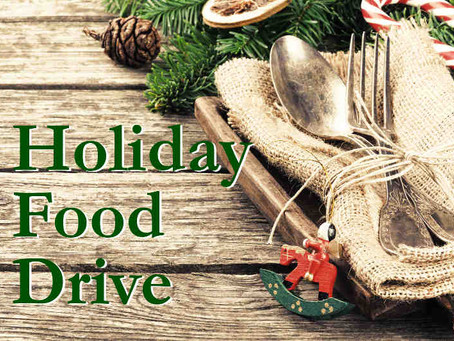 Local bank hosts holiday food drive to benefit Helping Harvest