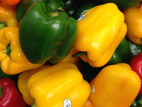 Fruits and veggies available at Helping Harvest thanks to TCI of NY