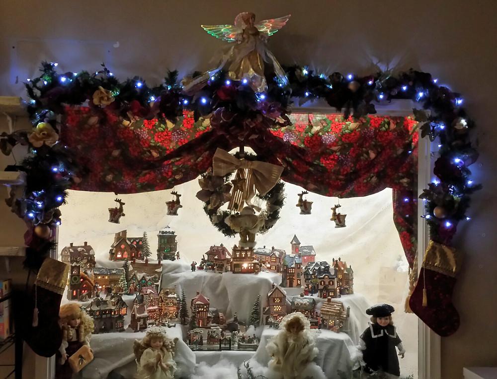 Christmas Village Dispay