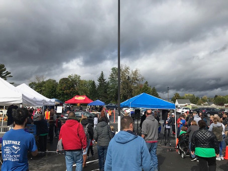 Rain didn't put a damper on 2018 Harvest Fest