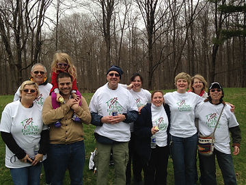 Volunteers at the 2014 Wellness Walk