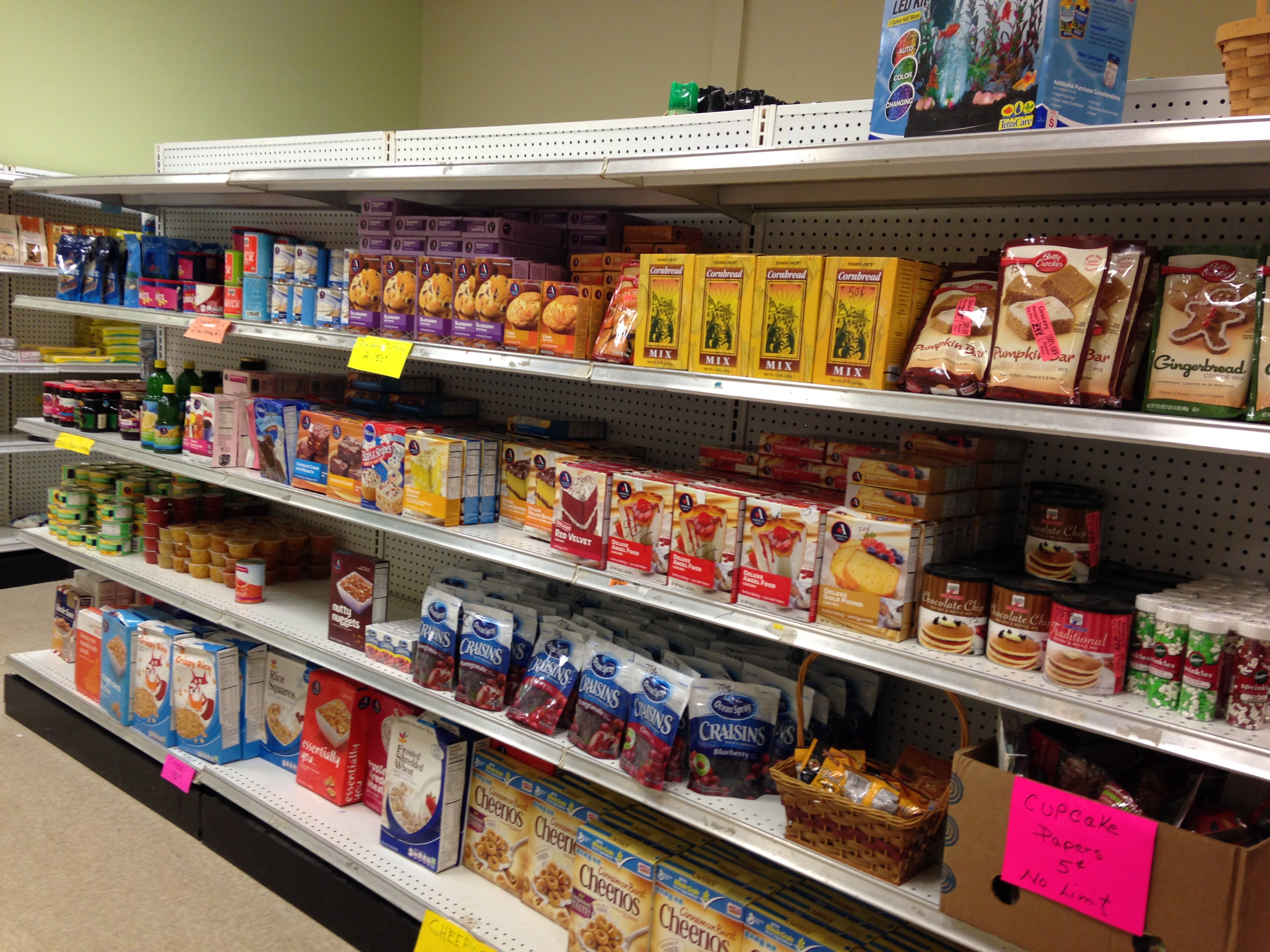 Your donations help us purchase food