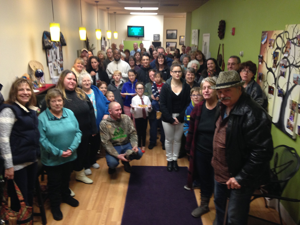 Hope Full Life Center's volunteers