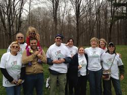 Volunteers at the RCS Wellness Walk