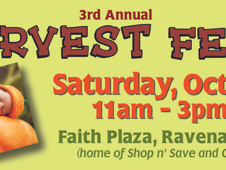 Join us for Harvest Fest 2015!