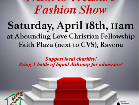 Fashion show to raise awareness and funds for local charities