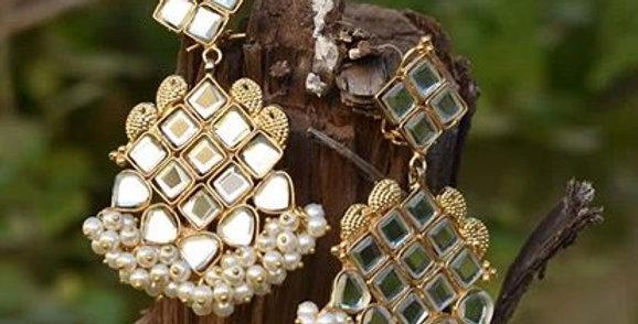 Mirror Cluster Earrings
