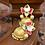 Thumbnail: Hand Painted Lotus Jhumkas