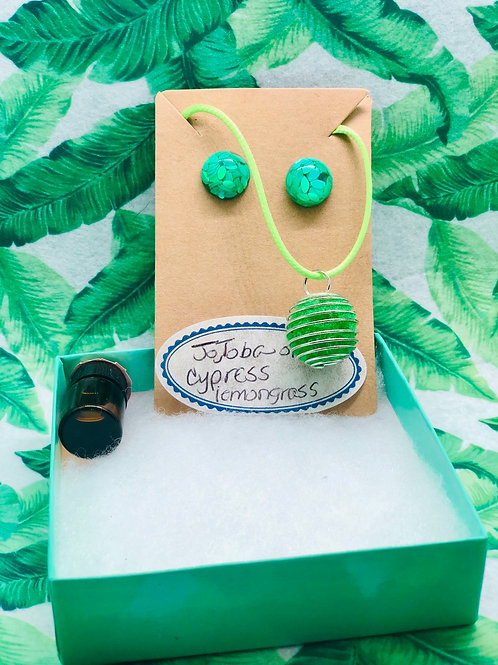Green Eyes Aromatherapy set