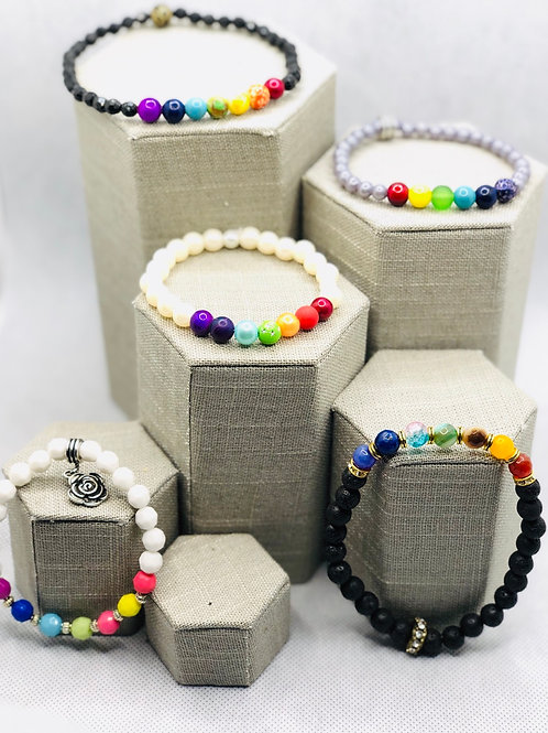 Chakra Anklet Collection
