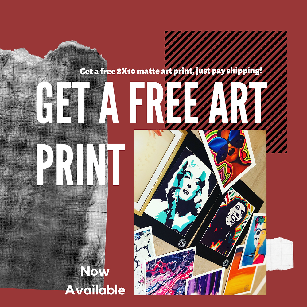 Free art print with subscription