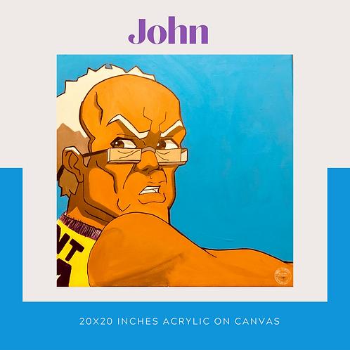 John Original Canvas Wall Art