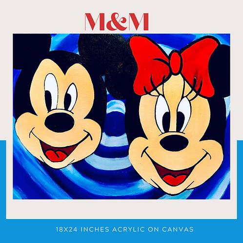 M&M Original Canvas Wall Art
