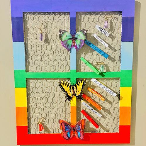 Window of Peace Wall  & Table Decor