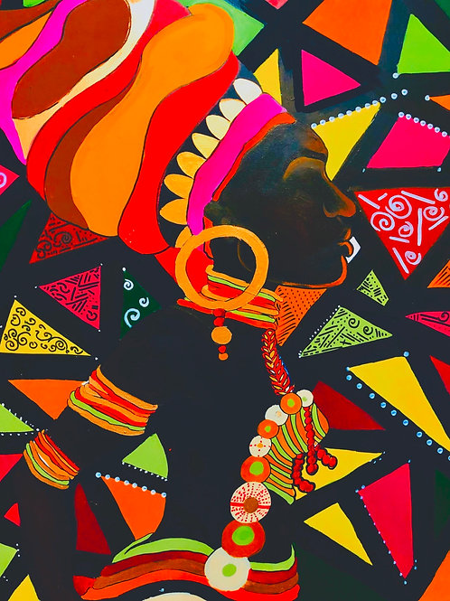 Yeyo Original Canvas Wall Art