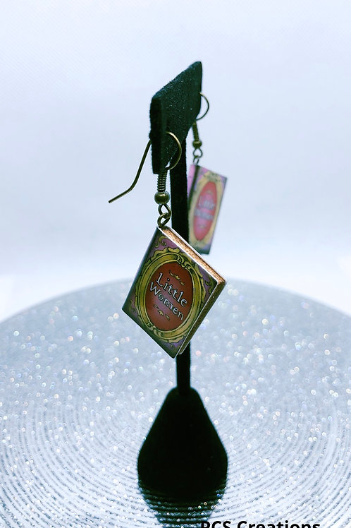 Antique hook book earring sets