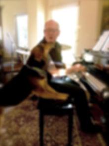 Me & charlotte (the dog) at nitanee's ho