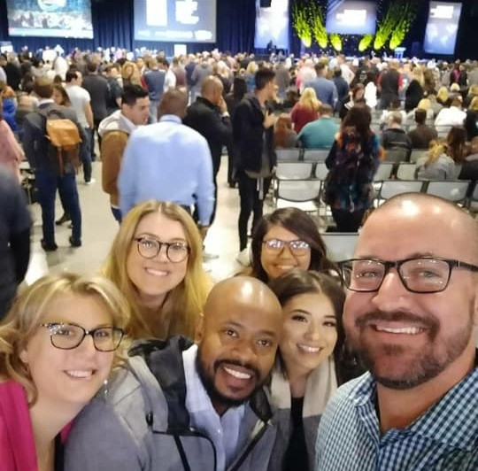 Ryno team at Tony Robbins event and conference